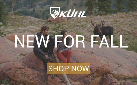 Shop Kuhl Clothing | New for Fall | click to shop