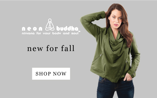 Neon Buddha | nirvana for your body and soul | new for fall | shop now
