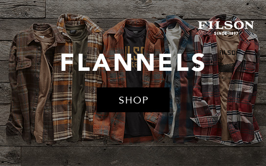 Filson Flannels | click to shop