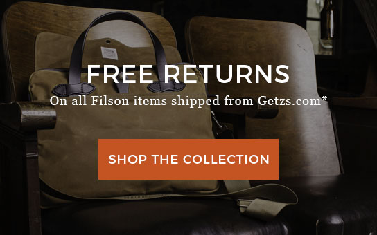 Filson | Free Returns on Filson Items | click to shop