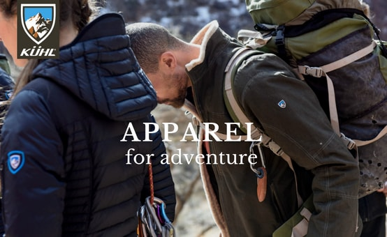 Kuhl | Apparel for Adventure | click to shop