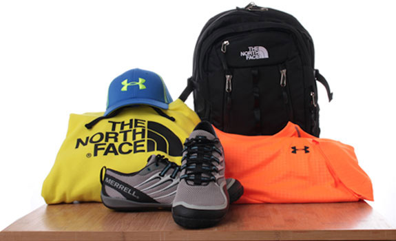 Whether you're on the trails or at the gym, Getz's can outfit you with Under Armour, The North Face, and brands alike to keep you active every day.