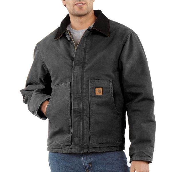 Carhartt Sandstone Traditional Jacket - Arctic-Quilted Lined - Discontinued Pricing
