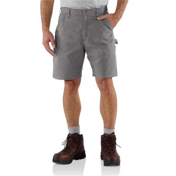 Carhartt Men's Canvas Cell Phone Work Short - 8.5 Inch Inseam