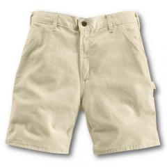 Men's Washed Drill Work Short - 8.5 Inch Inseam