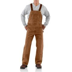 Men's Sandstone Bib Overall - Unlined