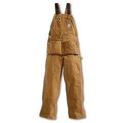 Men's Duck Carpenter Bib Overall - Unlined