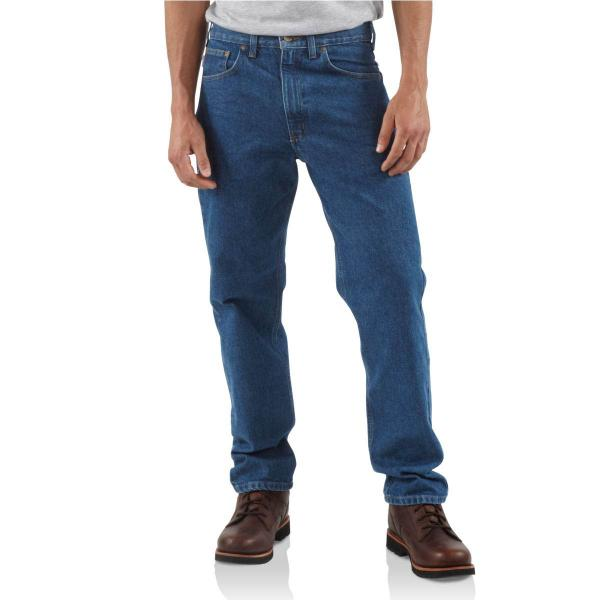 Carhartt Men's Traditional-Fit Tapered-Leg Jean