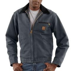 Men's Sandstone Detroit Jacket - Blanket Lined