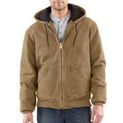 Men's Quilted-Flannel-Lined Sandstone Active Jac - Past Season