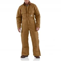 Duck Coverall - Arctic-Quilt Lined