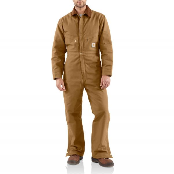 Carhartt Duck Coverall - Quilt Lined