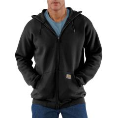 Men's Midweight Hooded Zip-Front Sweatshirt