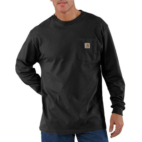 Carhartt Men's Workwear Pocket Long-Sleeve T-Shirt