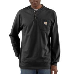 Carhartt Men's Workwear Pocket Long-Sleeve Henley