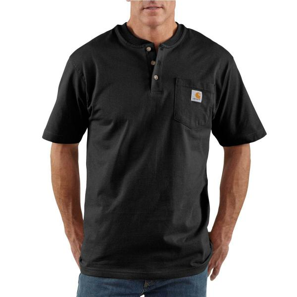 Carhartt Men's Workwear Pocket Short-Sleeve Henley