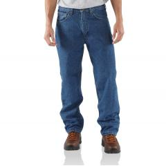 Men's Relaxed-Fit Straight Leg Jean - Fleece-Lined