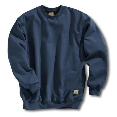 Carhartt Men's Thermal-Lined Crewneck Sweatshirt Closeout Pricing