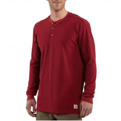 Men's Textured-Knit Henley