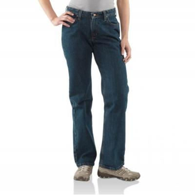 Carhartt Women's Relaxed-Fit Jean - Straight Leg