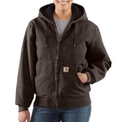 Women's Sandstone Active Jac - Quilted Flannel Lined