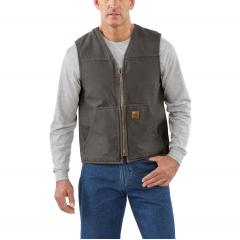 Men's Rugged Vest - Sherpa Lined