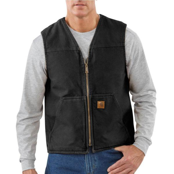 Carhartt Men's Rugged Vest - Sherpa Lined