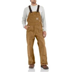 Men's Flame-Resistant Duck Bib Overall - Unlined