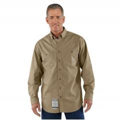 Men's Flame-Resistant Lightweight Twill Tradesman Shirt