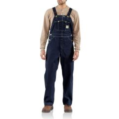 Carhartt Men's Denim Bib Overall - Unlined