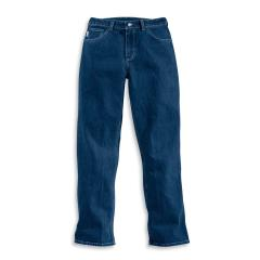 Women's Flame-Resistant Cotton-Blended Denim Jean - Straight Leg