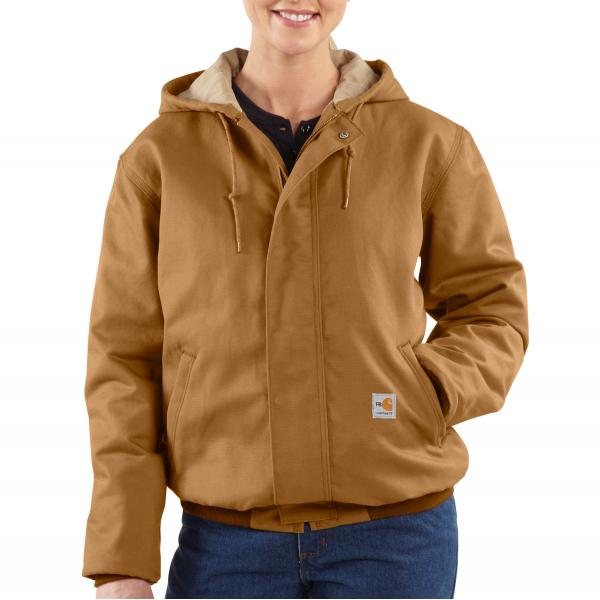 Carhartt Women's Flame-Resistant Midweight Canvas Active Jac