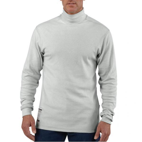 Carhartt Men's Flame-Resistant Traditional Long-Sleeve Mock Turtleneck