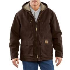 Men's Jackson Coat - Sherpa Lined