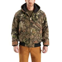 Men's Quilted-Flannel Lined WorkCamo Active Jac