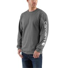 Men's Signature Sleeve Graphic Long-Sleeve T-Shirt