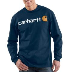 Men's Signature Logo Long-Sleeve T-Shirt