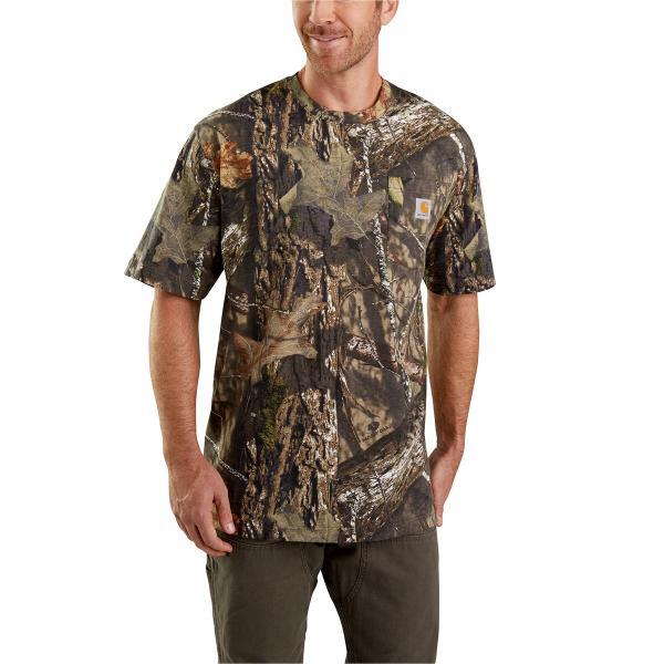 48fc82320dcb7 Carhartt Men's Camo Short Sleeve T-Shirt | Free Shipping
