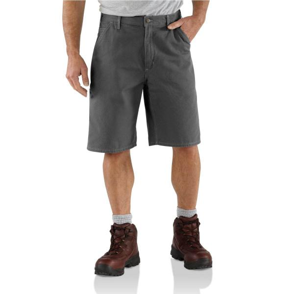 Carhartt Men's Canvas Utility Short - 11 Inch Inseam