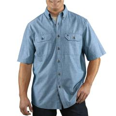 Men's Fort Solid Short-Sleeve Shirt