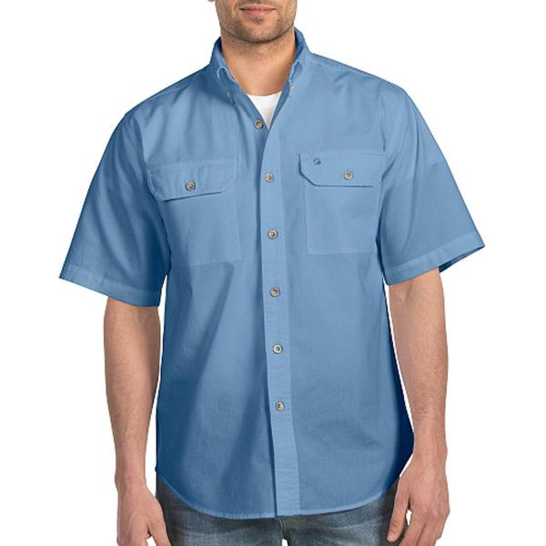 Carhartt Men's Fort Solid Short-Sleeve Shirt