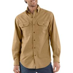 Men's Fort Solid Long-Sleeve Shirt