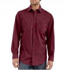 Long-Sleeve Canvas Tradesman Shirt