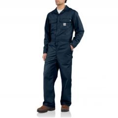 Men's Flame-Resistant Classic Twill Coverall - Unlined