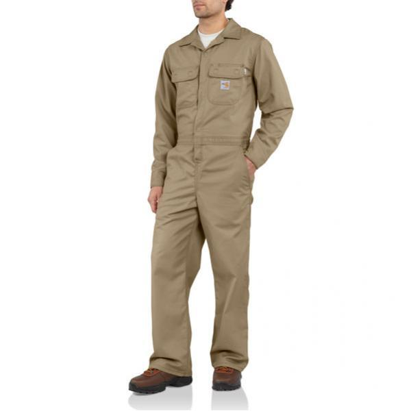 Carhartt Men's Flame-Resistant Classic Twill Coverall - Unlined - Discontinued Pricing