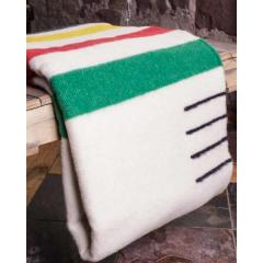 Multi Stripe Wool 4 Point Blanket - Full
