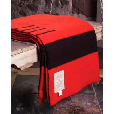 Hudsons Bay Scarlet Wool 4 Point Blanket - Full