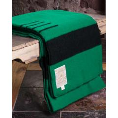 Green Wool 4 Point Blanket - Full