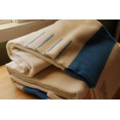 Blue Wool 4 Point Blanket - Full