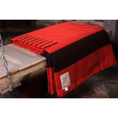 Scarlet Wool 8 Point Blanket - King